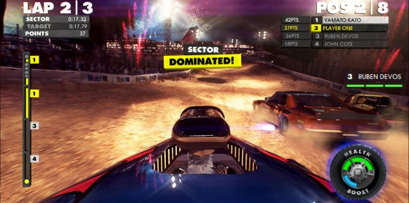 Analisis Dirt Showdown